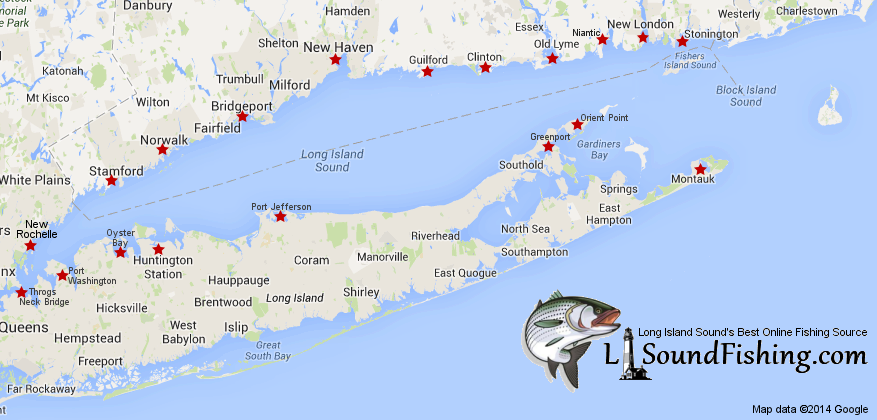 Long Island Sound Fishing Sites